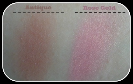 swatches blushes